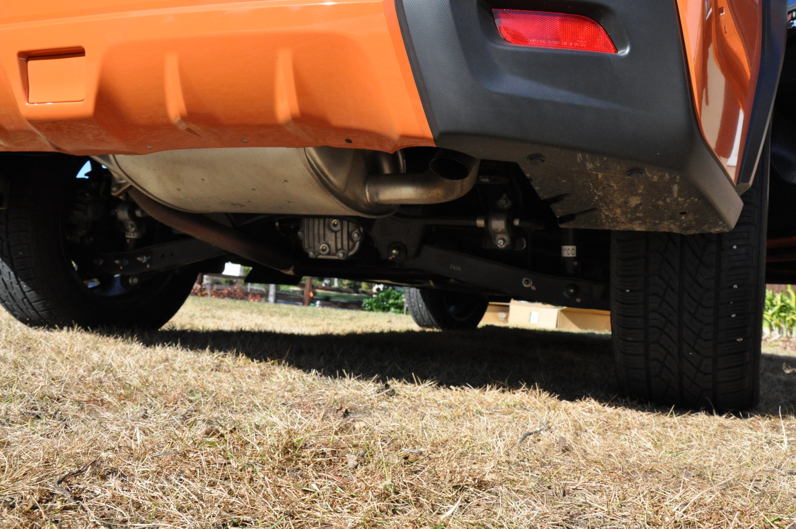 Subaru XV Crosstrek ground clearance