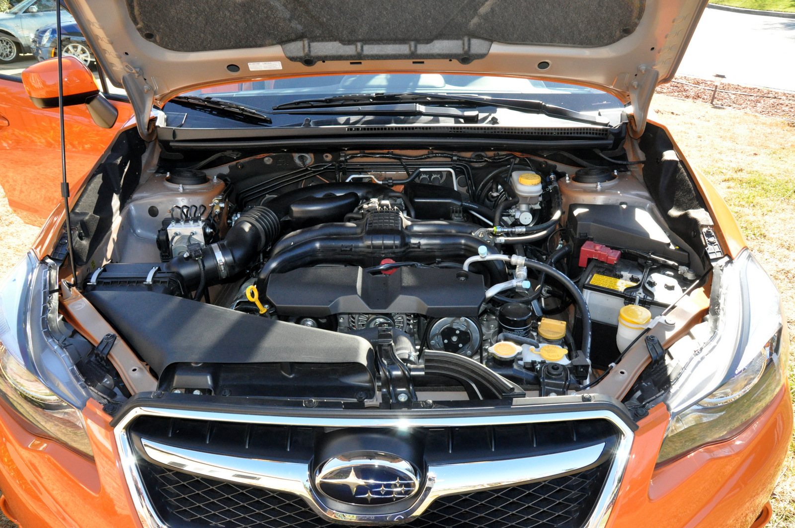 Subaru XV Crosstrek front engine bay