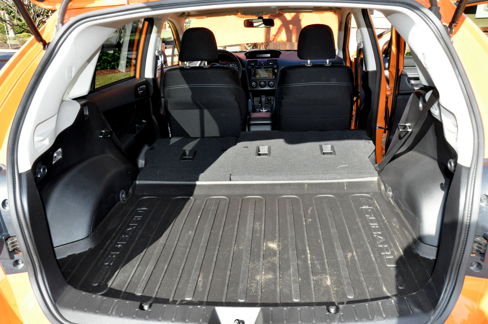 Subaru XV Crosstrek rear cargo area