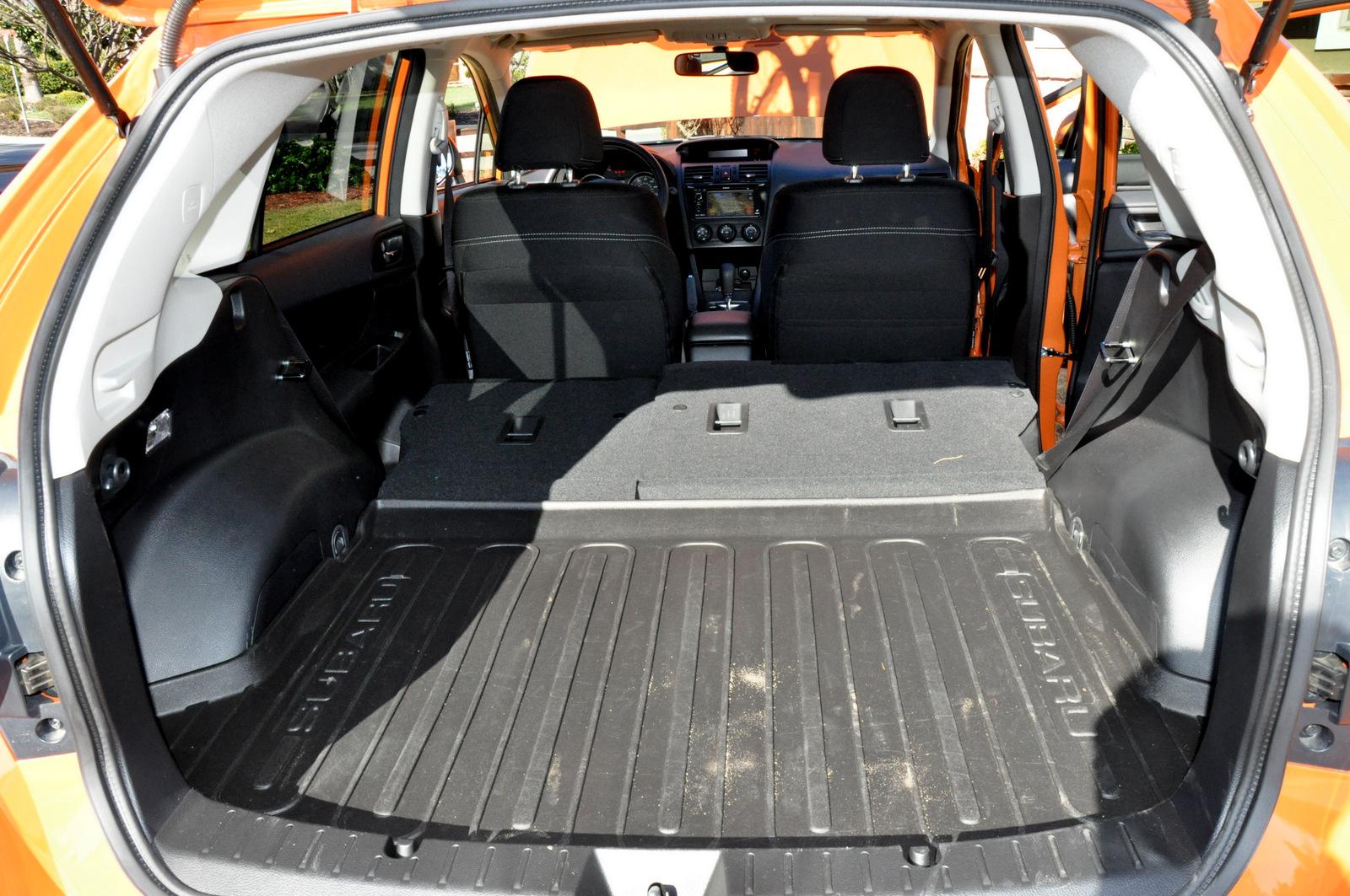 Subaru Xv Crosstrek Rear Cargo Area