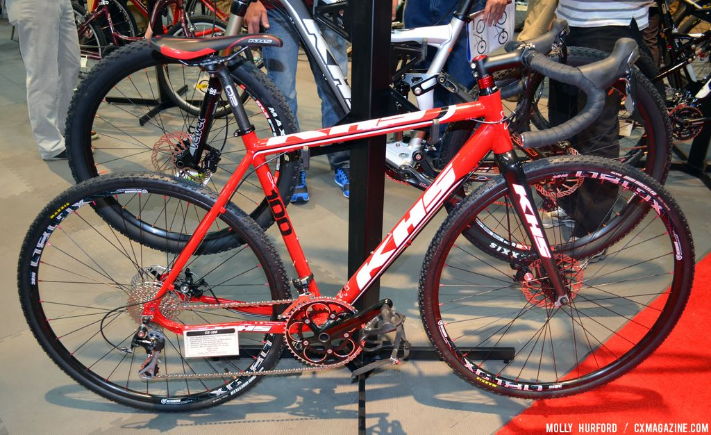 KHS Jumps to Discs with 2014 CX300 and CX100 Cyclocross Bikes   Road ...