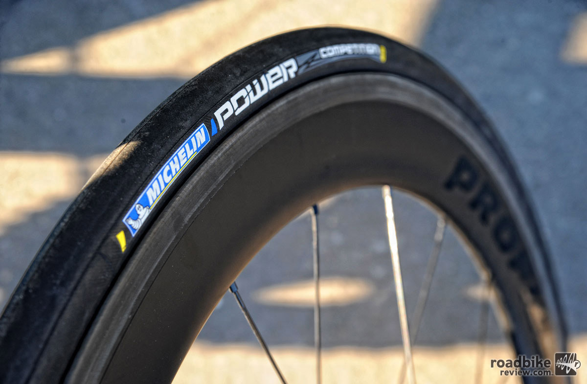 The Power Competition is a race specific tire that features greatly improved rolling resistance to the Pro4 Service Course.