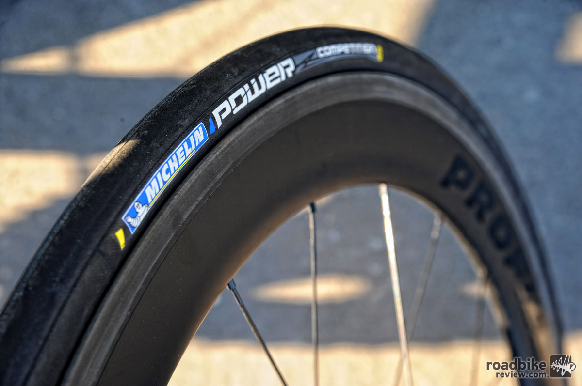 Claimed weight for the 25c is a competitive 215 grams. Photo courtesy Michelin/Brian Hodes