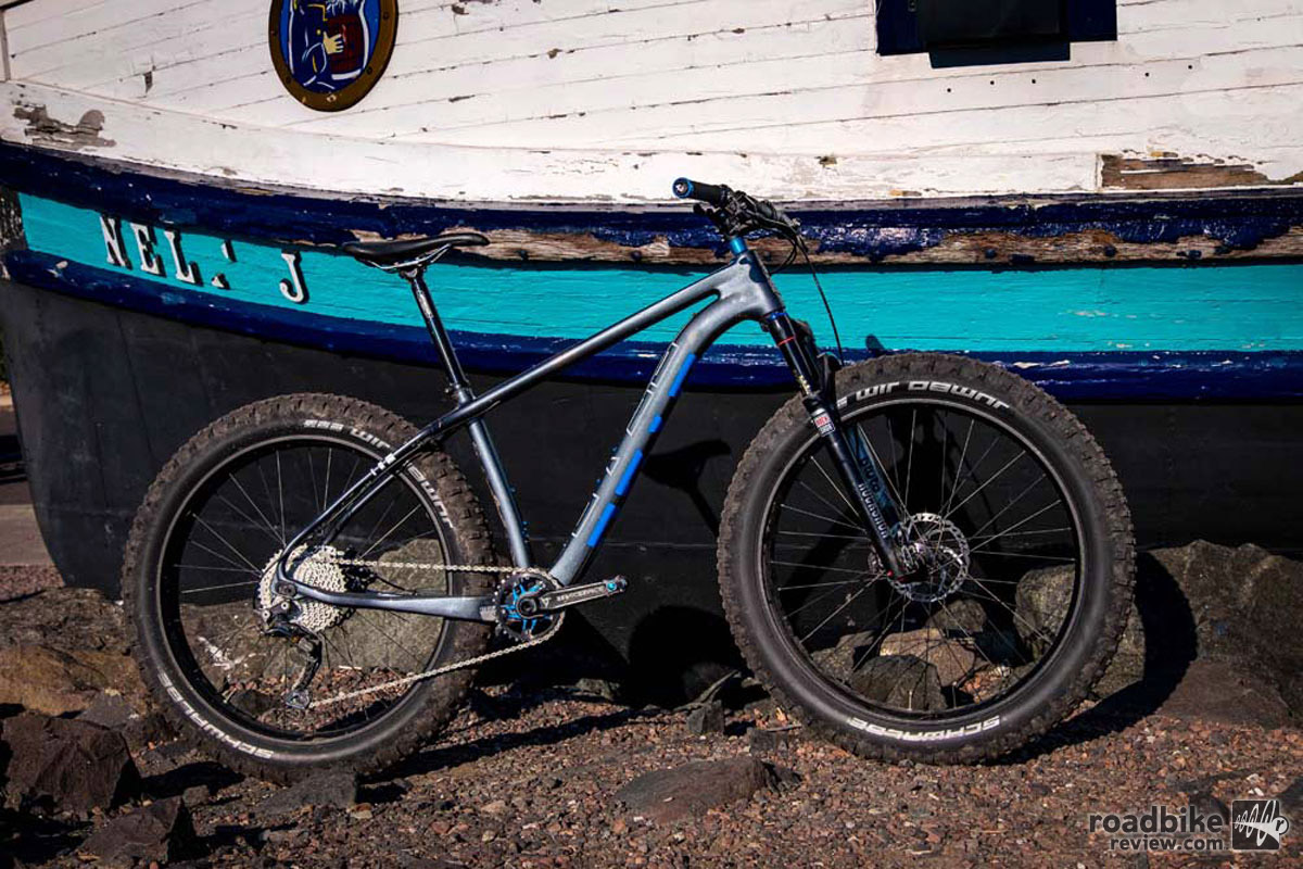 """The new hardtail is a 27.5+ or 29+ trail bike that can also accommodate up to 26x4.6"""" tires."""