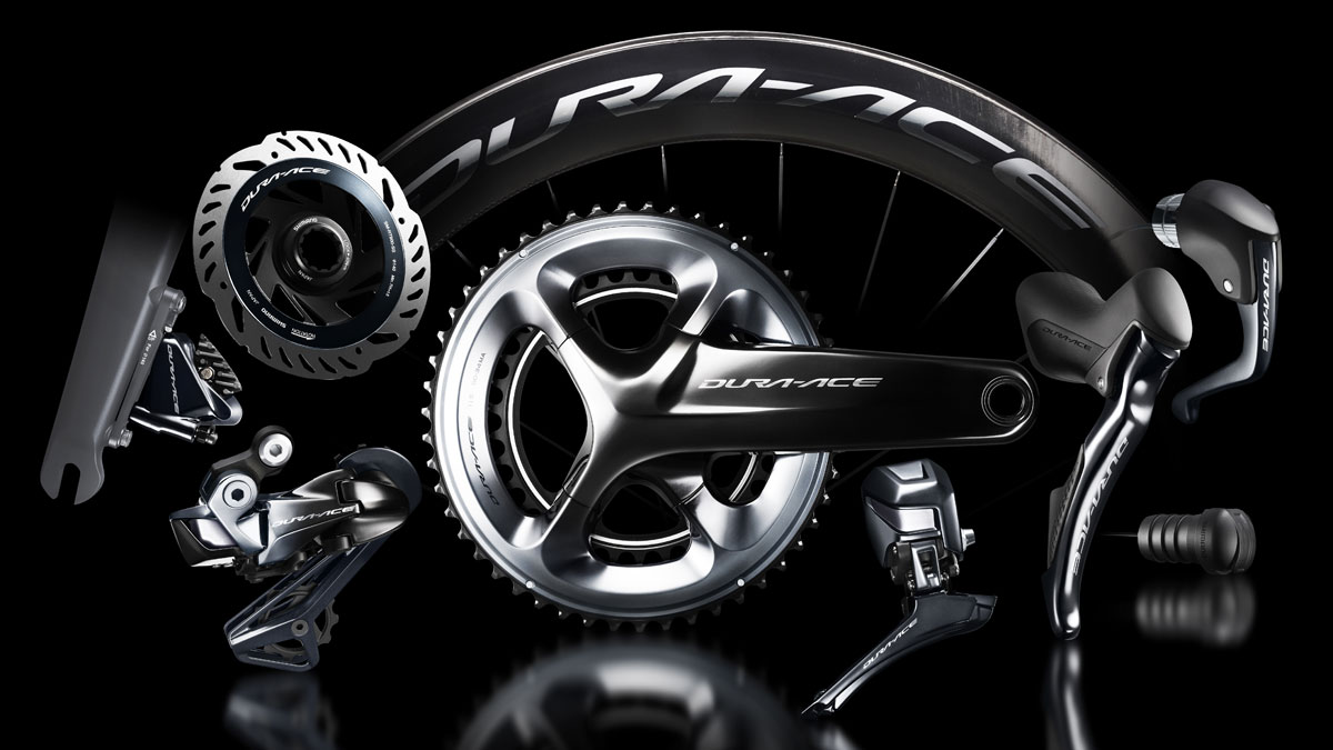 Dura-Ace now available in a disc brake version.