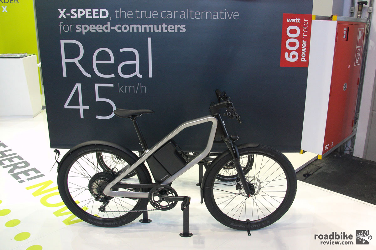 """The line between bicycle and electric motorcycle is getting more and more blurry… But hey, at least all you """"speed commuters"""" will get to work on time."""