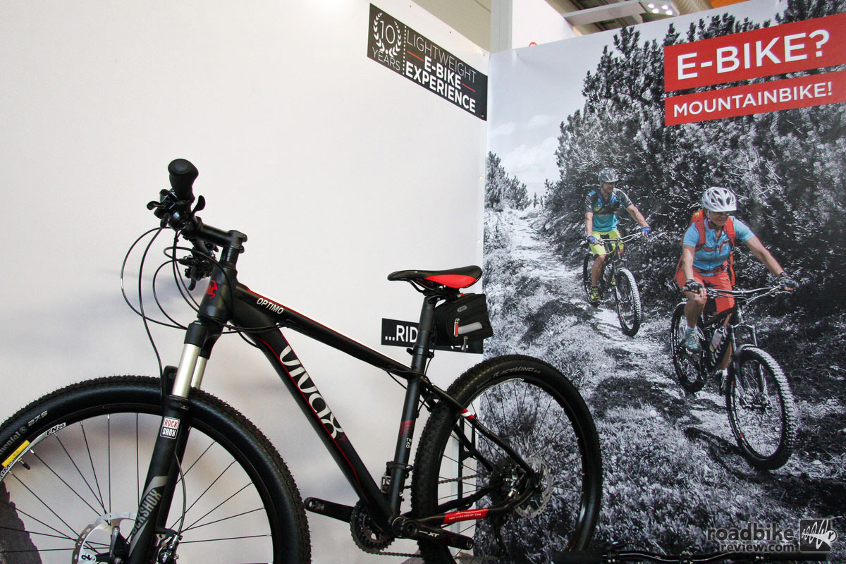 Want to ride an e-bike but don't want your pals to know about it? Then Vivax might be the answer you're looking for. Using the same hidden-in-the-bottom bracket technology that created a furor at January's cyclocross world championships, the company is now selling complete mountain bikes. Vroom, vroom.