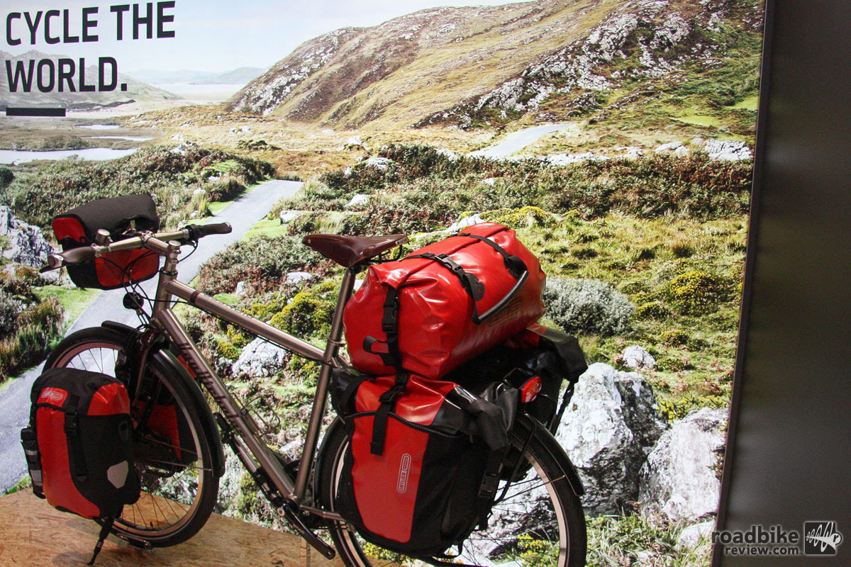 On the other end of the spectrum, bag maker Ortlieb wants to help you see the world.