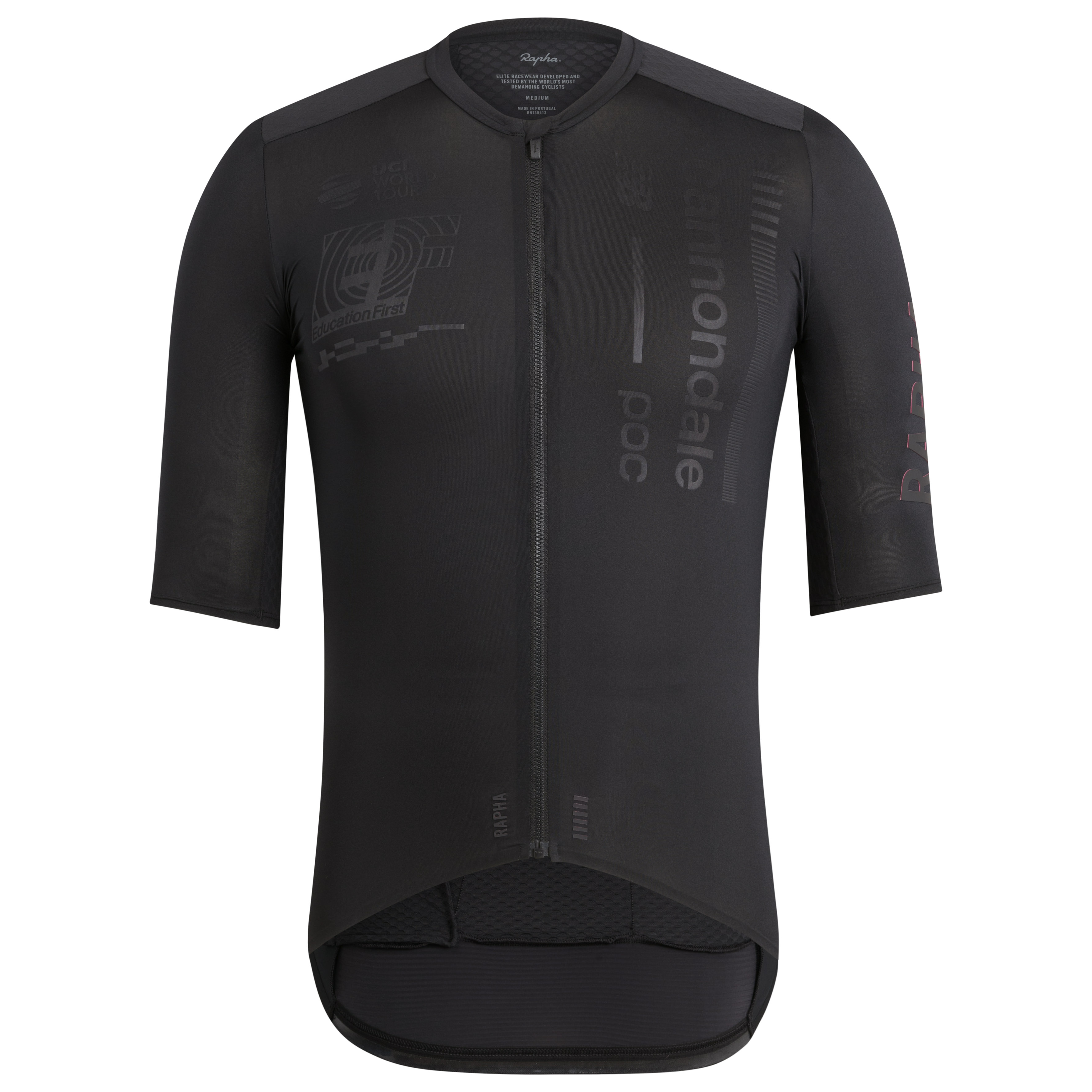 Rapha Blackout ahead of full EF Education first kit reveal  796ec89da