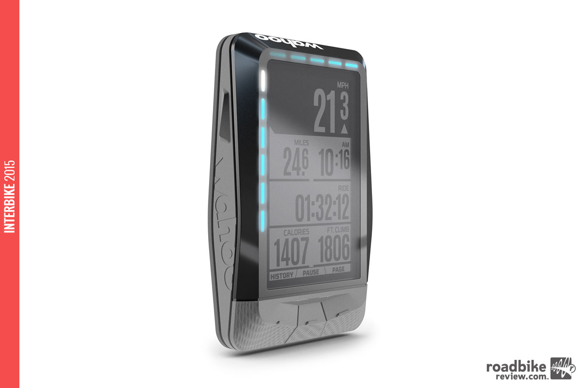 The ELEMNT is also fully integrated with the rest of the Wahoo product line, giving riders the ability to control their KICKR indoor training experience directly from their handlebars, without a computer, tablet or smartphone.