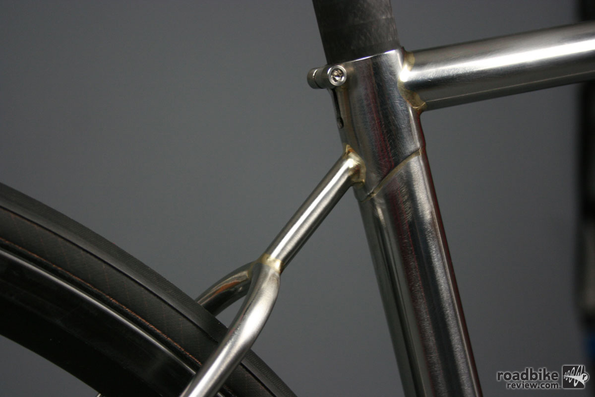 The brazing on this frame were simply amazing and the amount of time and care evident at every tube junction.