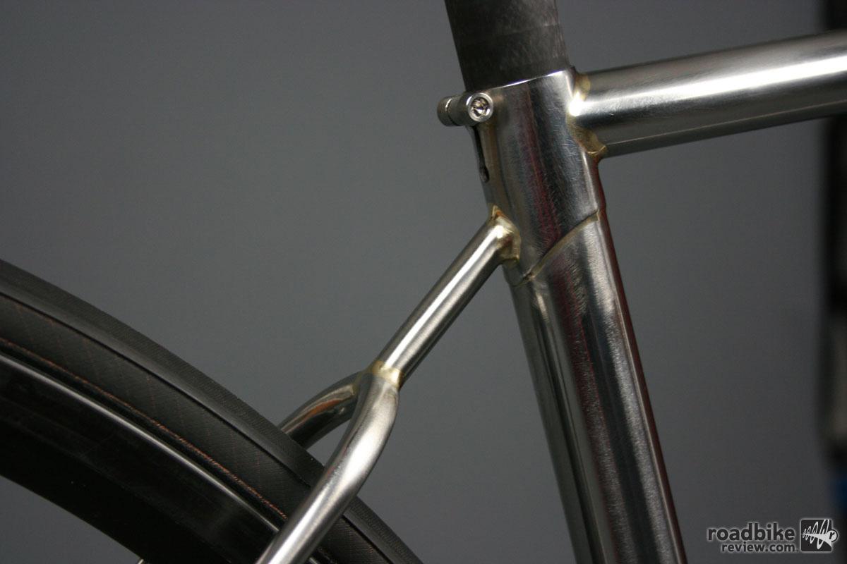 NAHBS 2016: English Cycles 9.9 lbs stainless steel road bike | Road ...