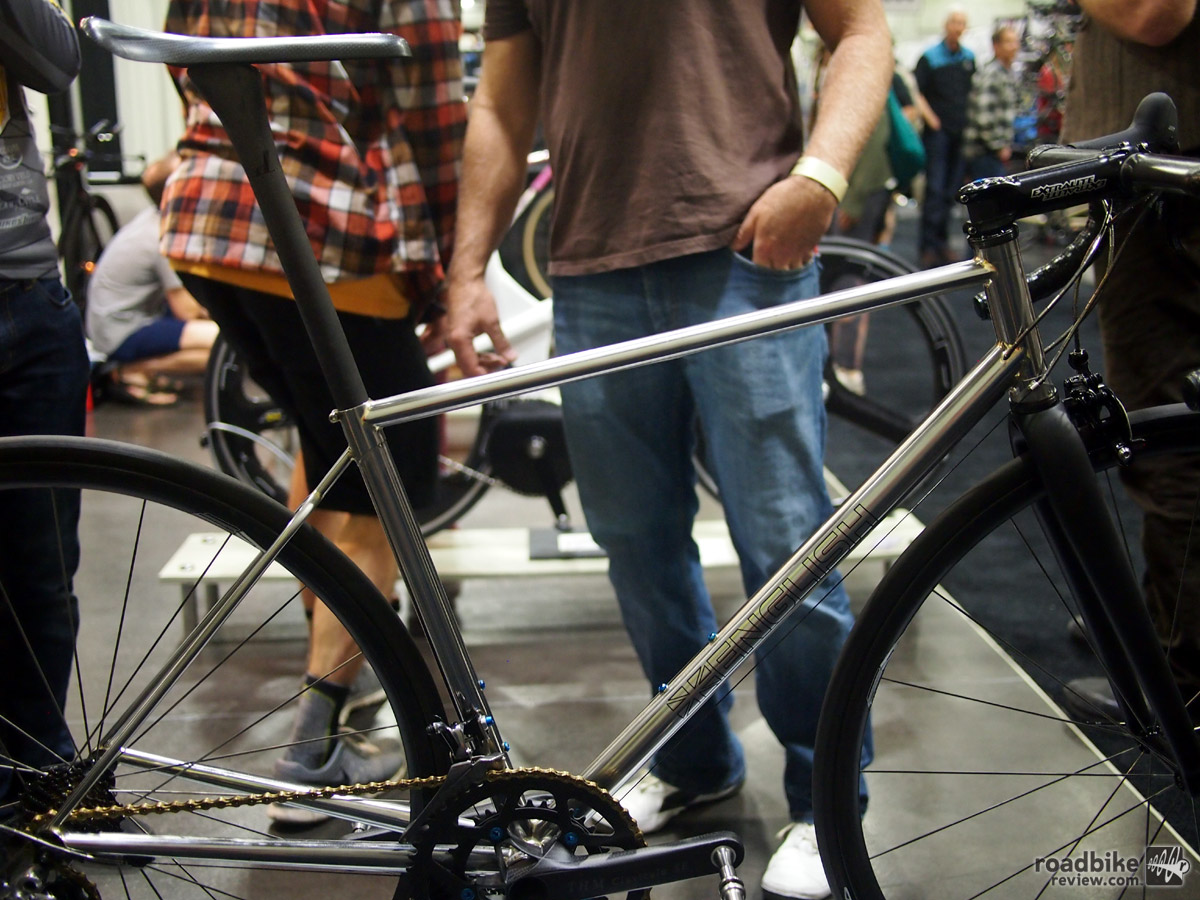 This bike is not only ultra light, it has a finish that is dazzling to gaze at.