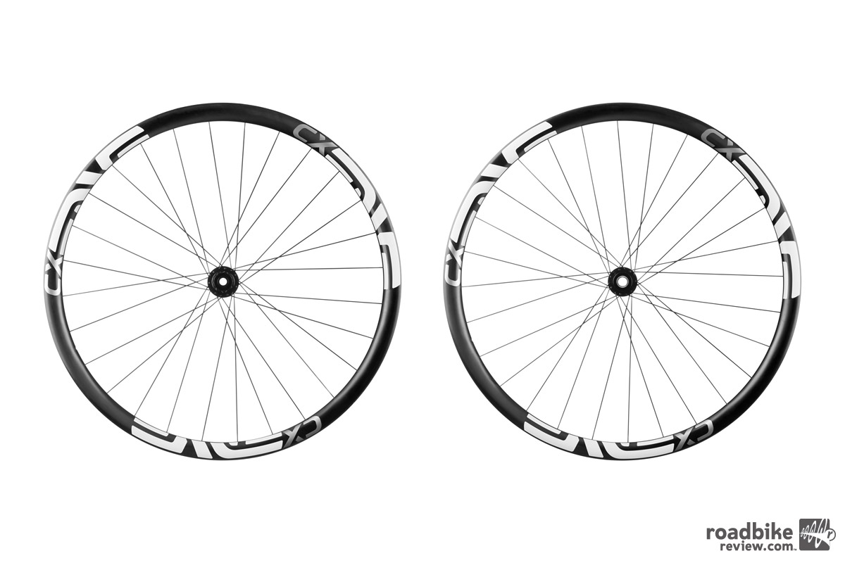 These new high-zoot carbon CX hoops are available as a disc-specific tubular only set-up.