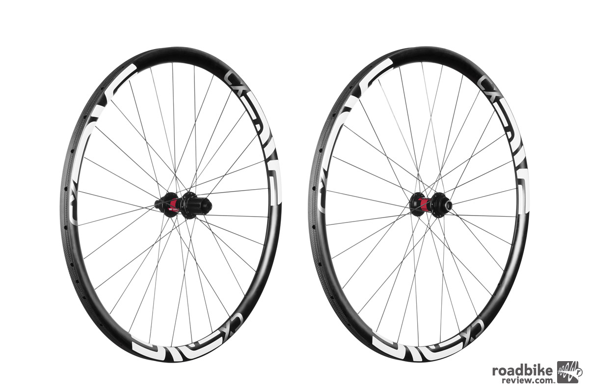 When built up with DT Swiss 180 hubs, the new ENVE CX wheelset has a claimed weight of 1208 grams.