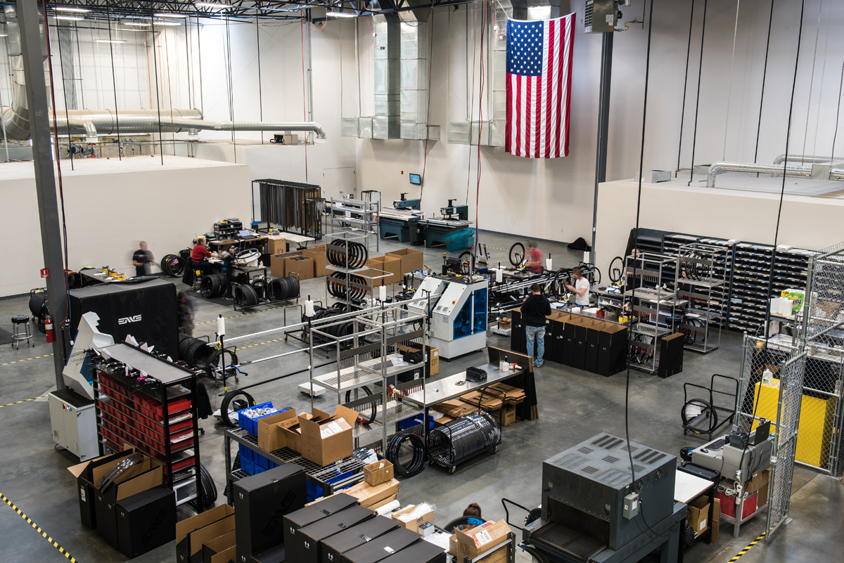 ENVE Composites Factory Tour