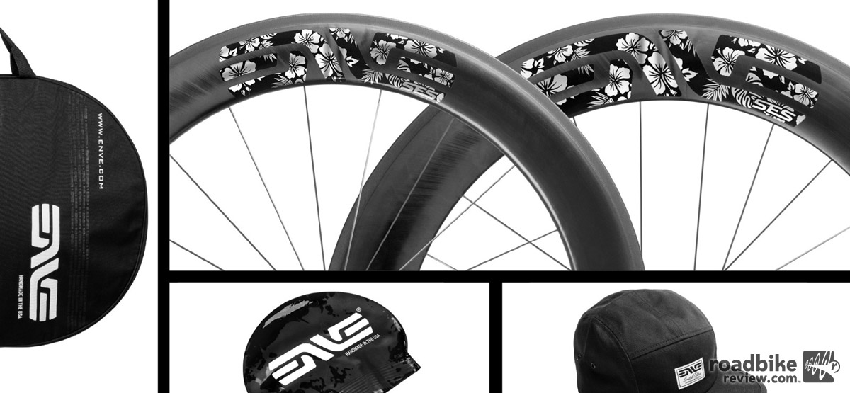 In honor of this weekend's Ironman World Championships, ENVE is offering this limited edition graphics package.