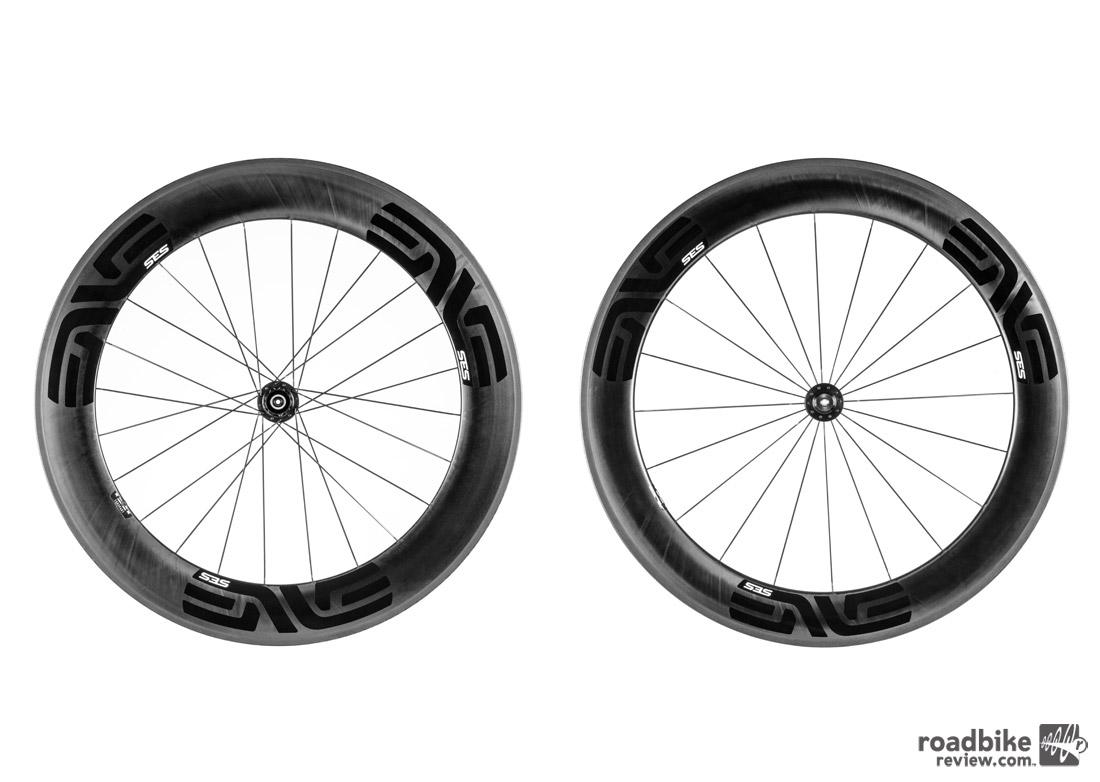 The 7.8's front wheel is 72mm deep, 29mm wide external. In back it measures 80mm deep, 27.5mm wide external.