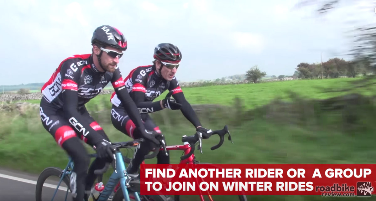 Find a friend to join on on the cold weather suffering.