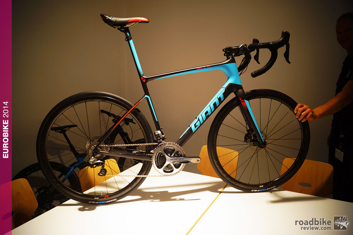 Eurobike: 2015 Giant Defy Advanced SL