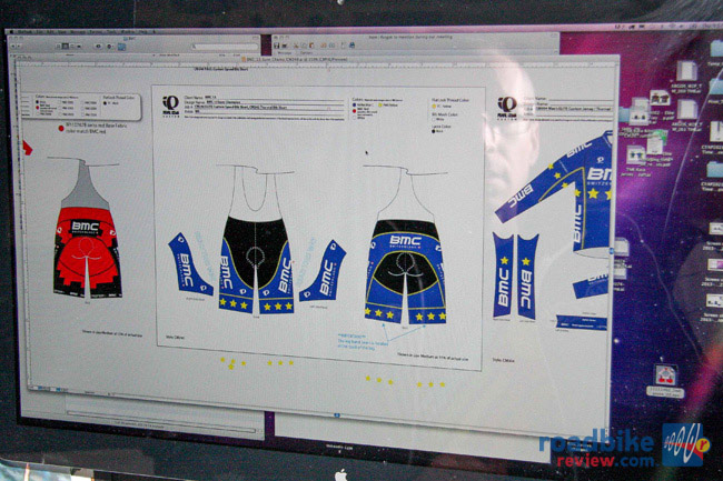 Euro MTB champ kit gets designed