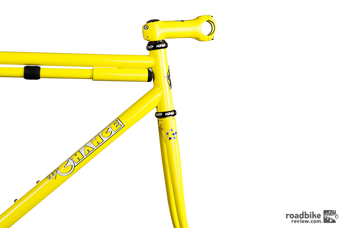Each order comes with a litany of options for customization, including headset, fork, pump, and color choices.