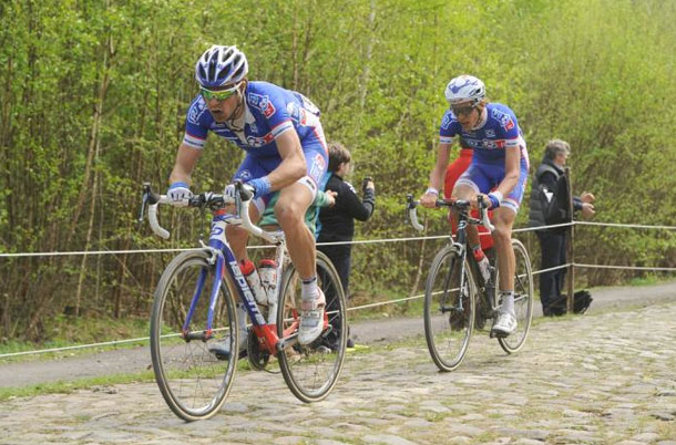 FDJ at Roubaix