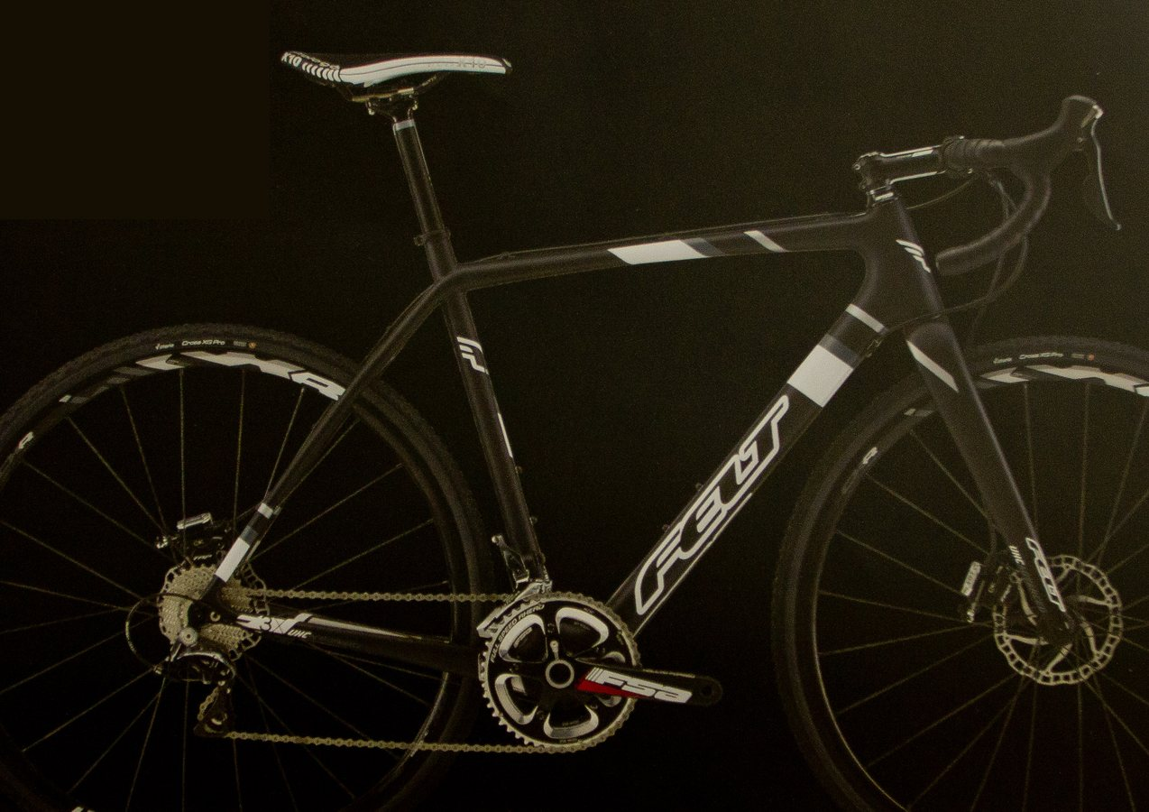 d5de04845dc Felt 2014 F3x Carbon Cyclocross Bike with Ultegra and Dura-Ace 11-speed