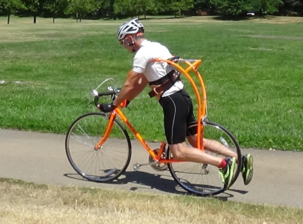 Flying Ride Bike