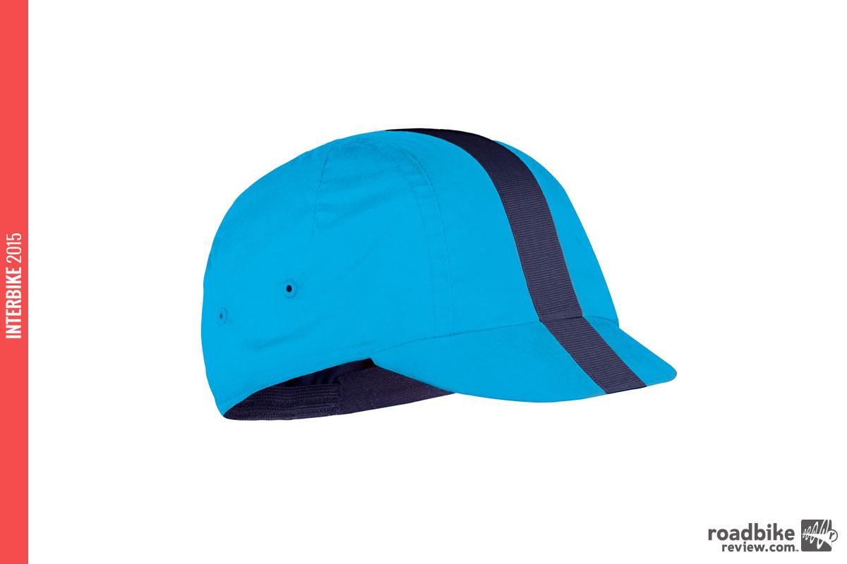 Fondo Cap in Seaborgium blue.