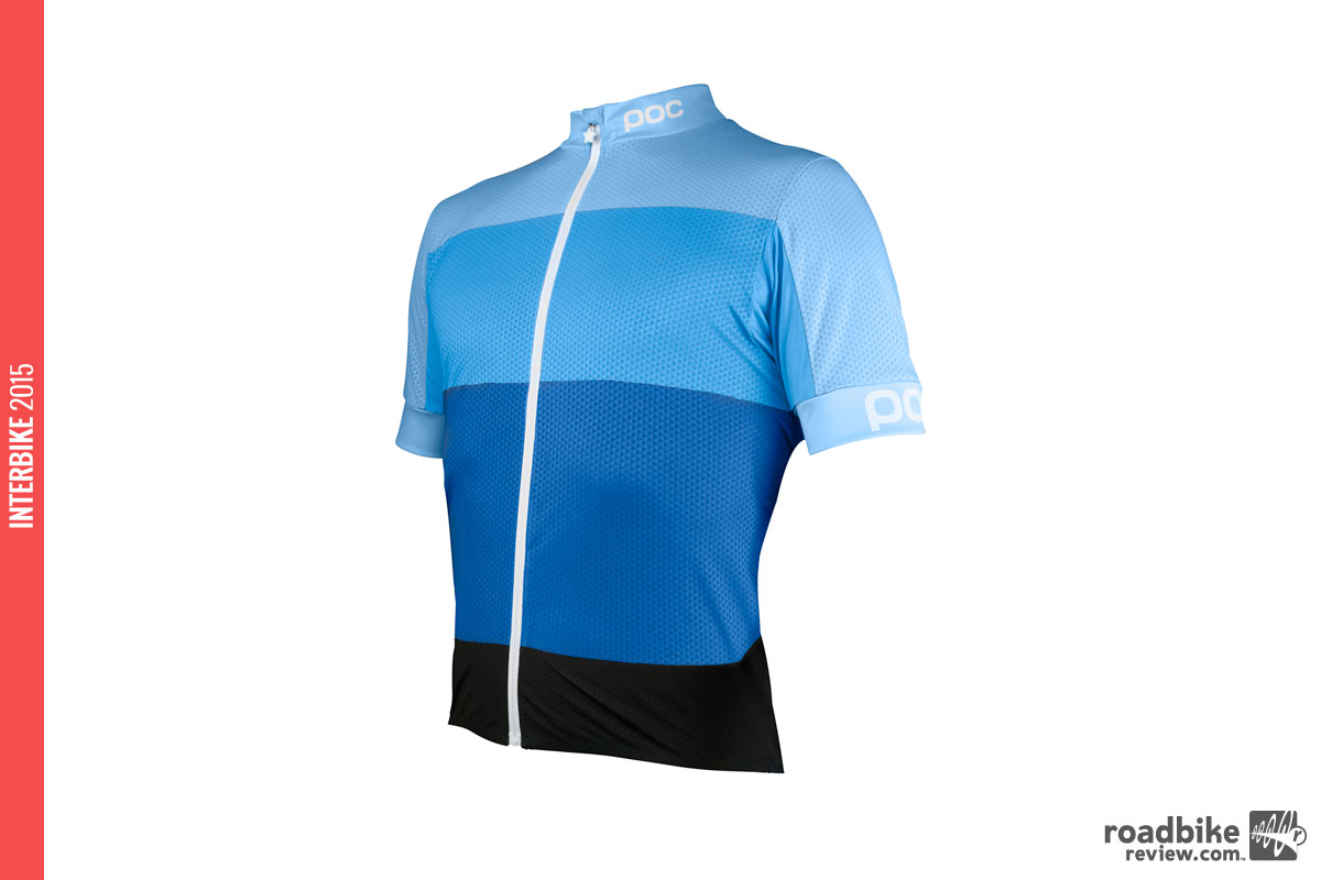 Fondo Light Jersey in Seaborgium multi blue.