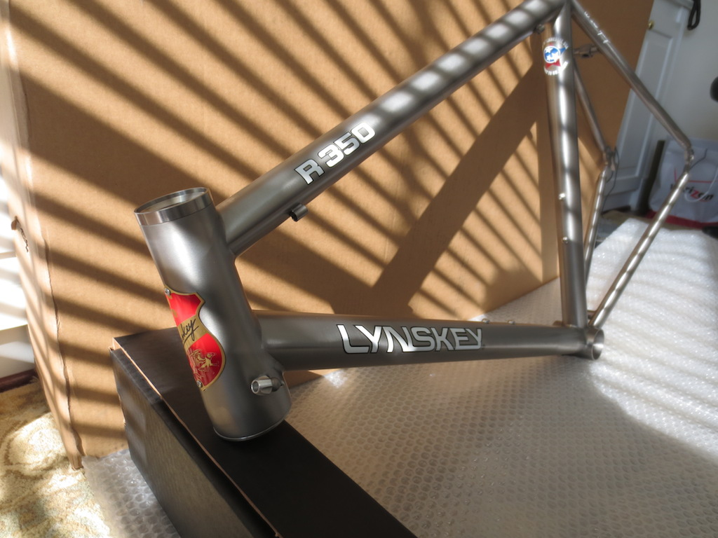 New Lynskey R350 Pics My First Build Need Some Help