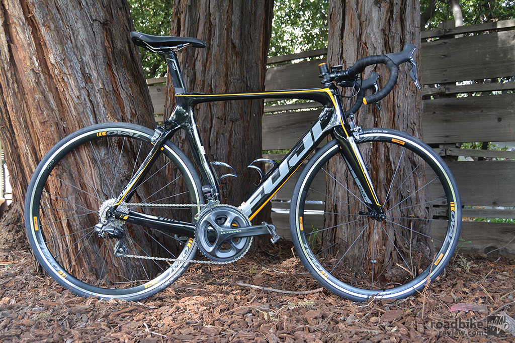 The Fuji Transonic 2.1 is a great value for riders who enjoy sprinting for the town line.
