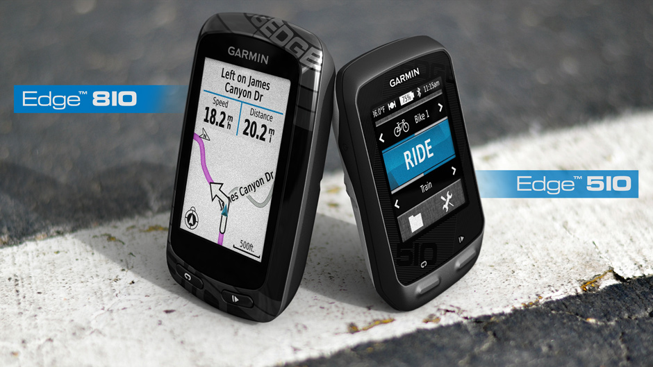 Garmin Edge 810 and 510