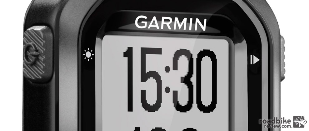 The Garmin Edge 20 GPS-Simple and effective. Photo courtesy of Art's Cyclery