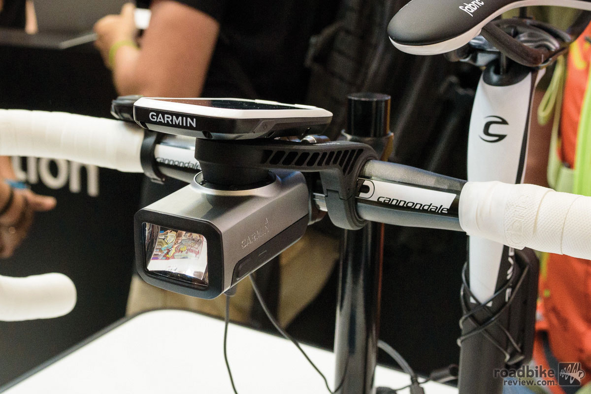 Garmin Varia Smart Bike headlight.