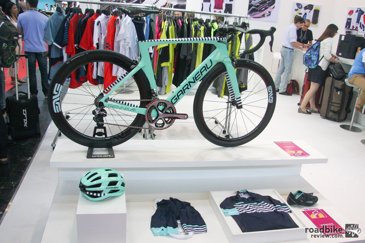 Garneau takes customization beyond the bike with its DreamFactory program.