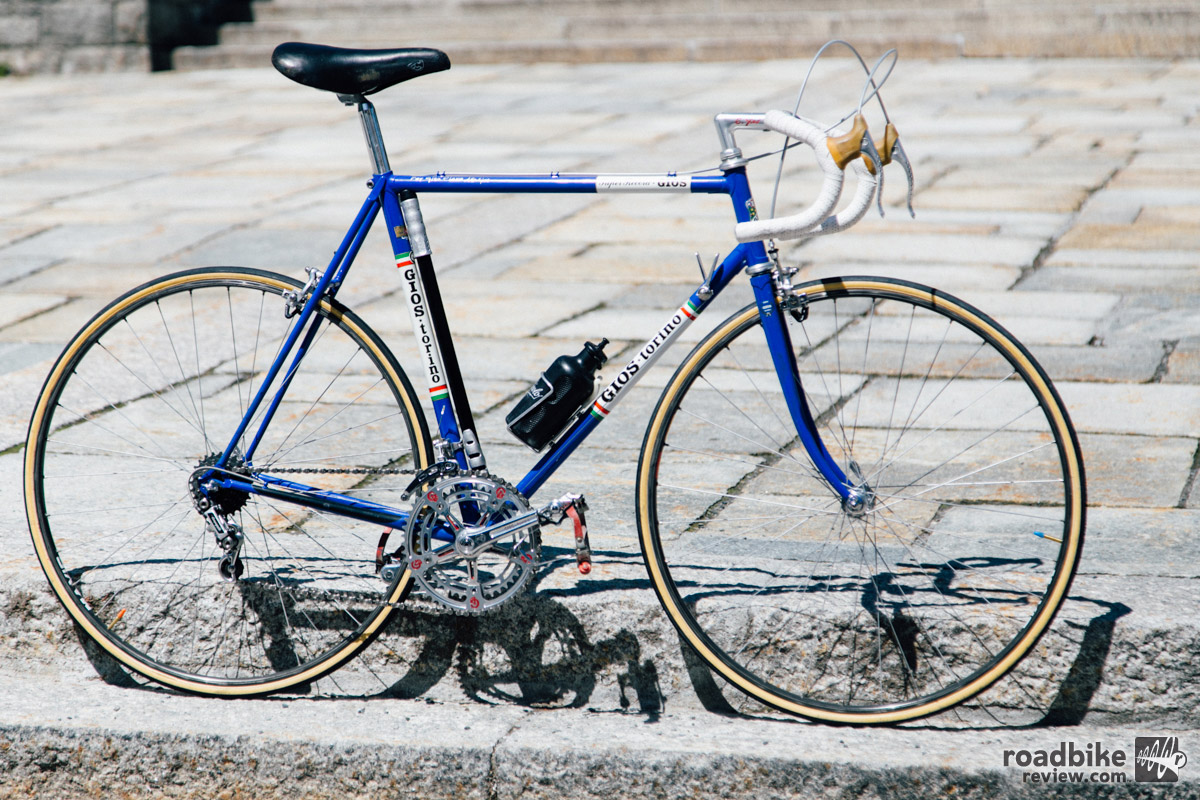 Glen Plake's classic Gios is a show stopper.