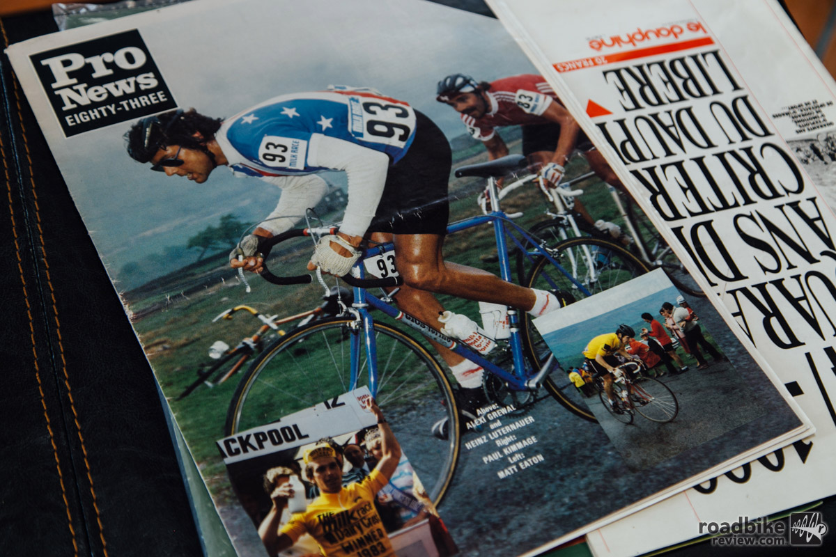 How cool is this bike? It was once on the cover of Pro News.