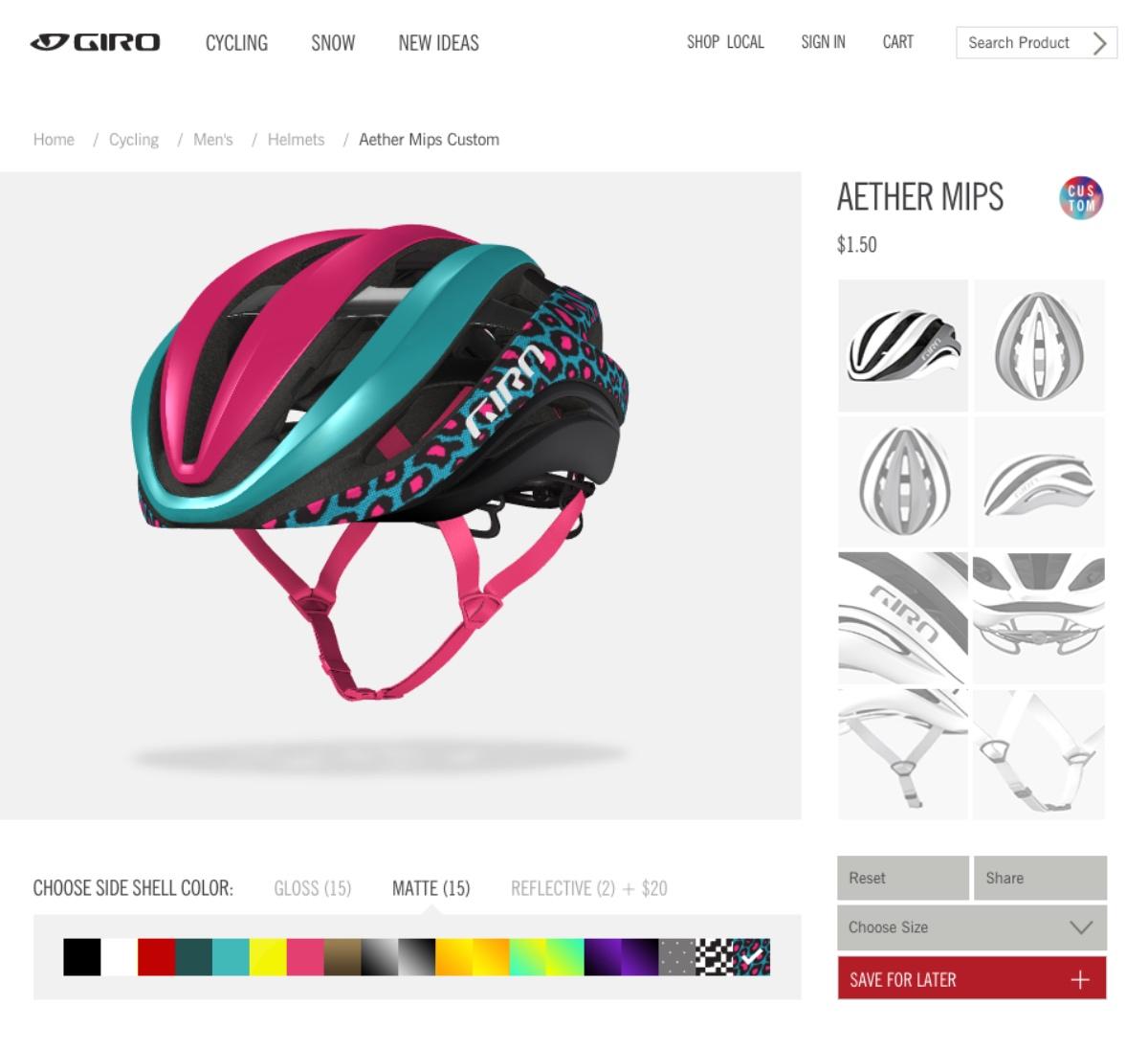 Giro Aether MIPS Custom