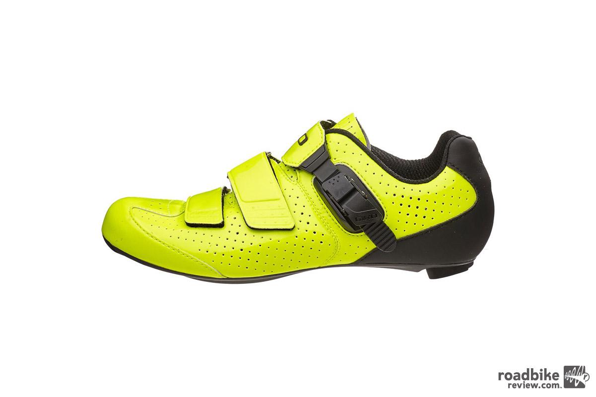 Giro Trans E70 Road Shoe Highlighter Yellow Shoes