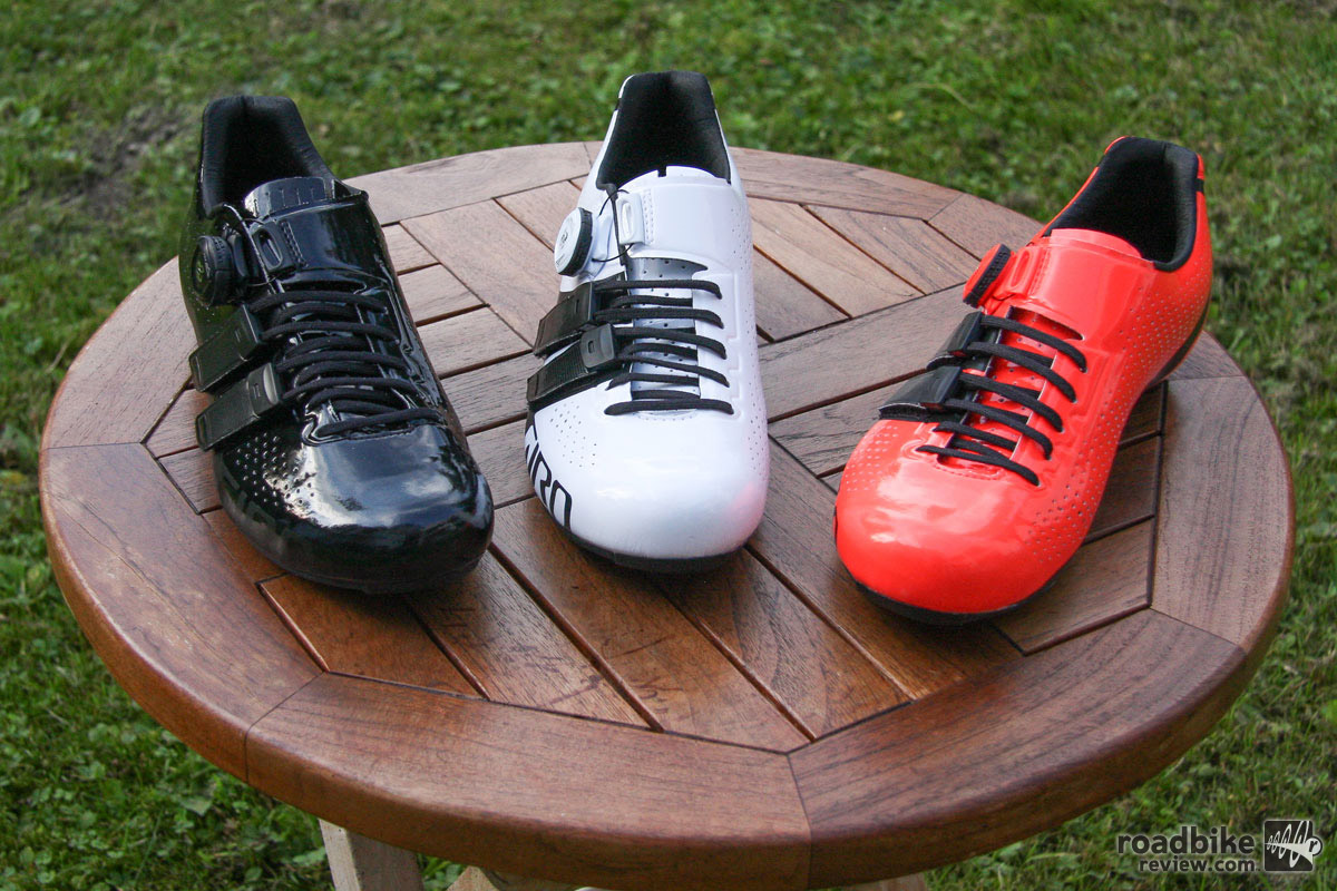 The new Factor Techlace line-up includes three color options. Price is $350.