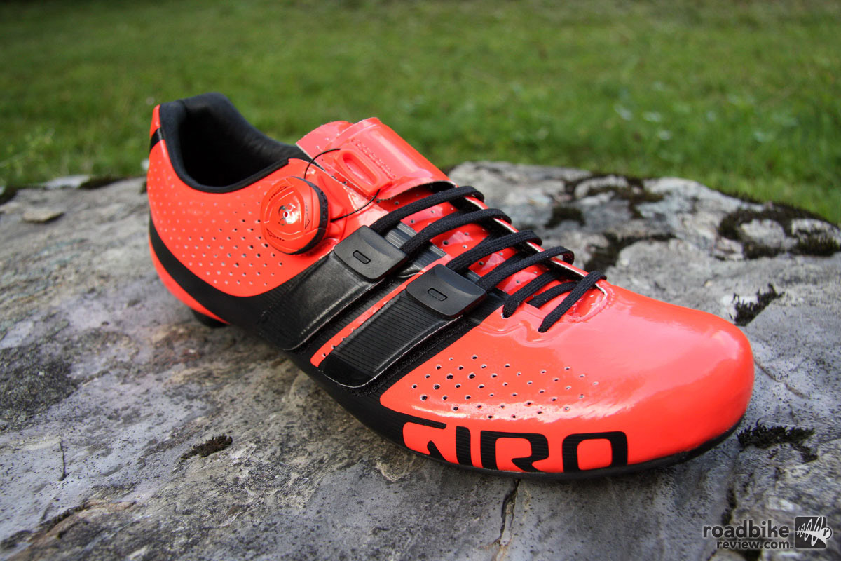 Giro Factor Techlace shoe combines laces with Boa dial