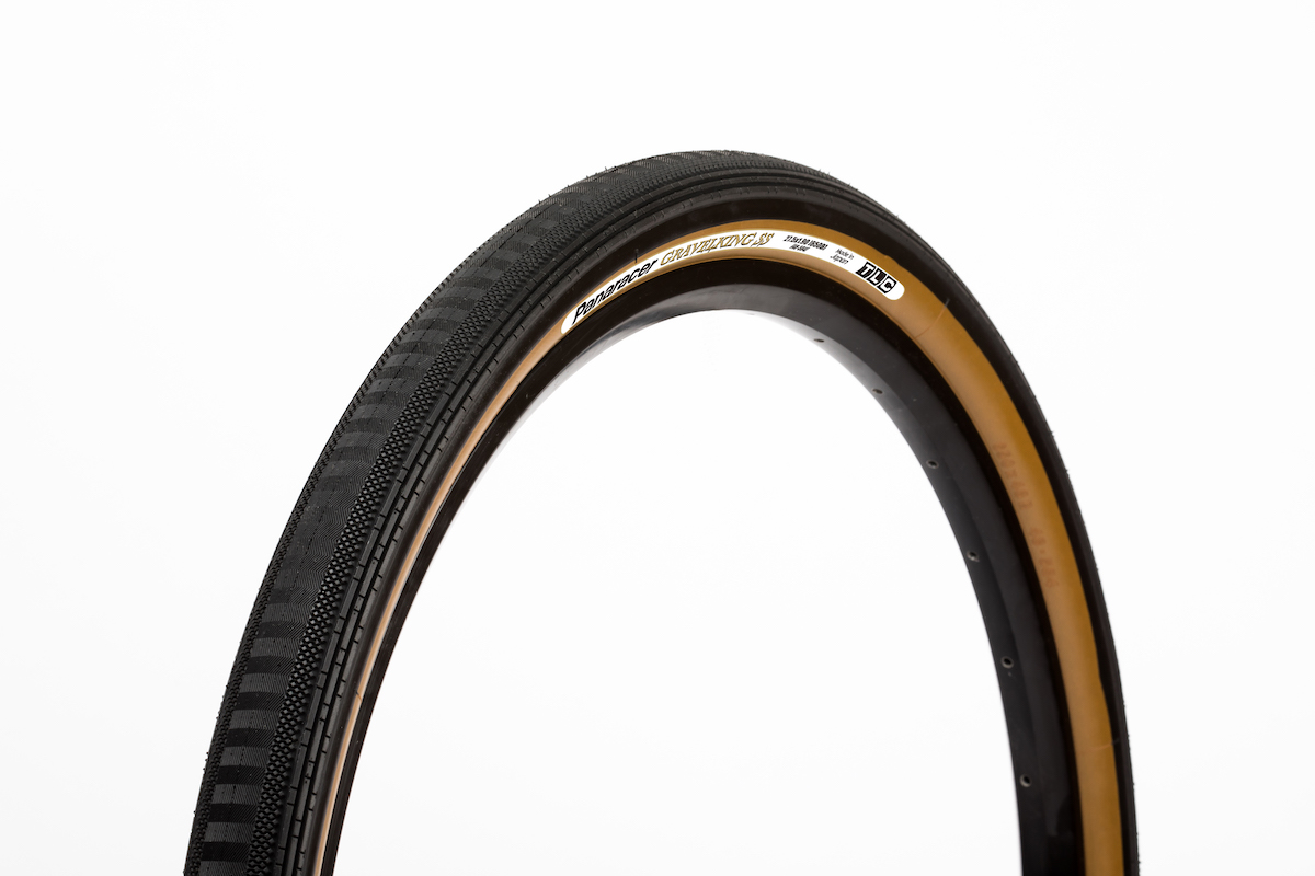 The Gravel King SS and SS+ are fast-rolling tires designed for pavement and hardpacked gravel/dirt roads.