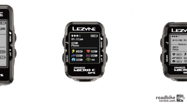 Lezyne 2017 GPS computer line-up quick comparison