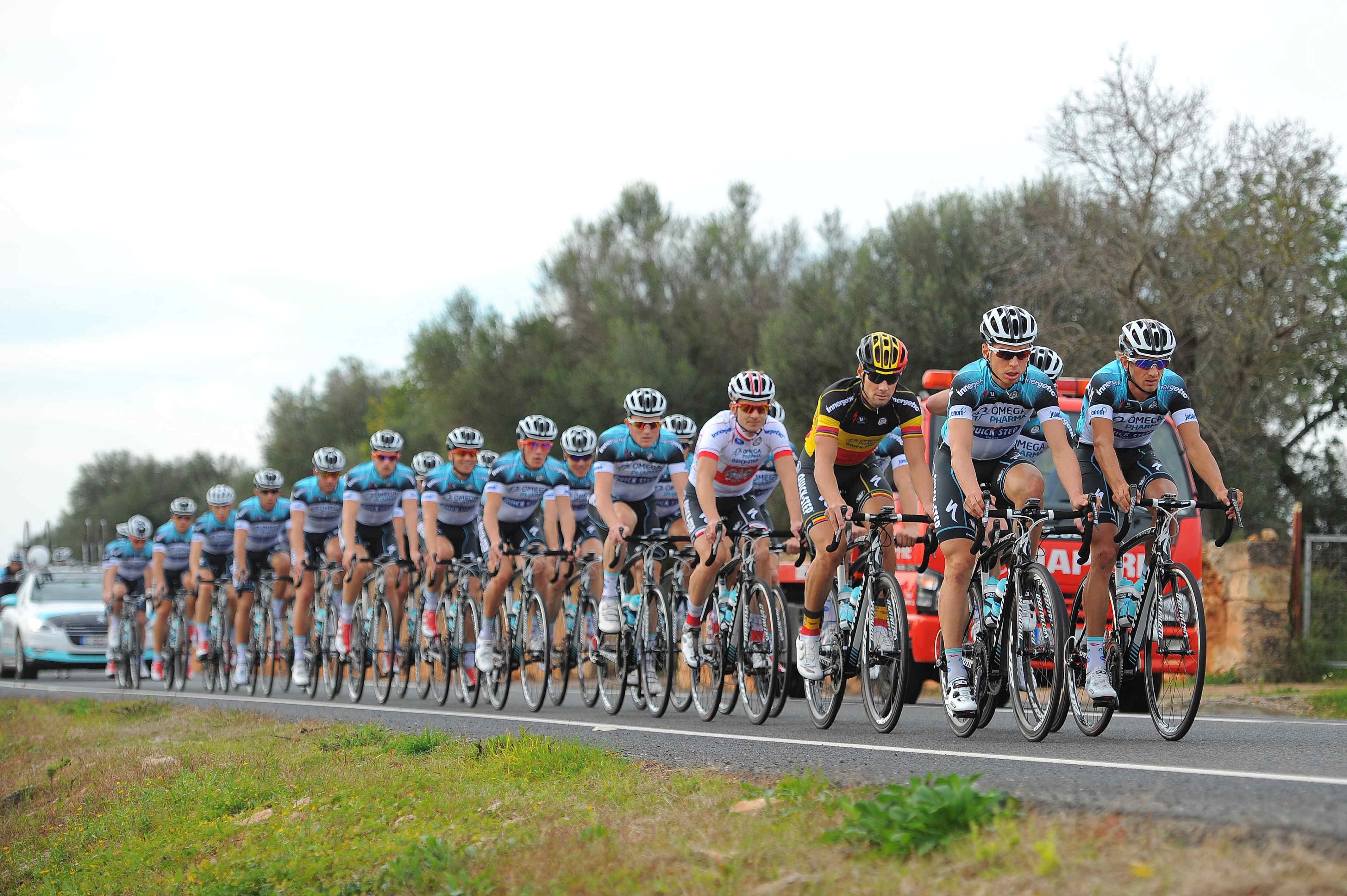 Quick-Step Cycling Team - 2013 kits