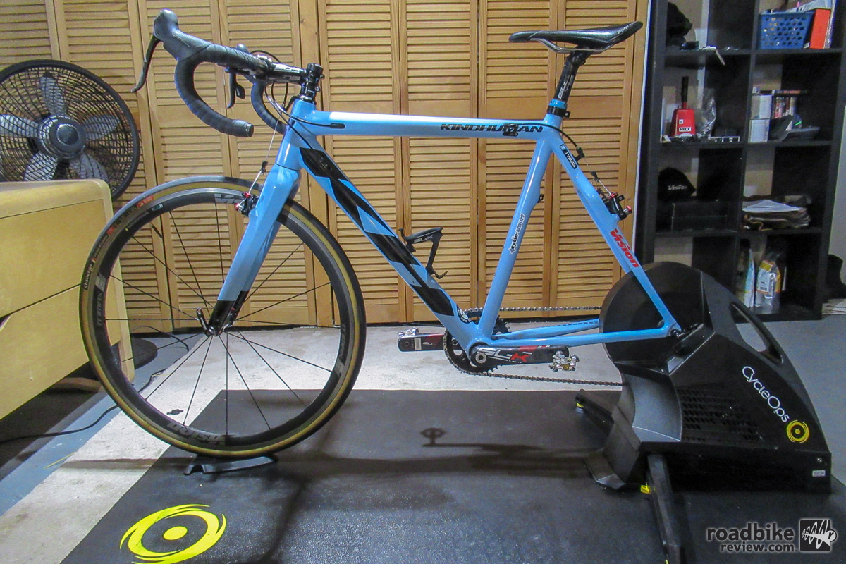 Cycleops Hammer Smart Trainer Review Road Bike News