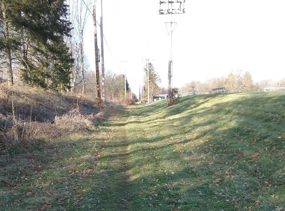 Rail Trail: NYC Auburn road trail-harley-n.jpg