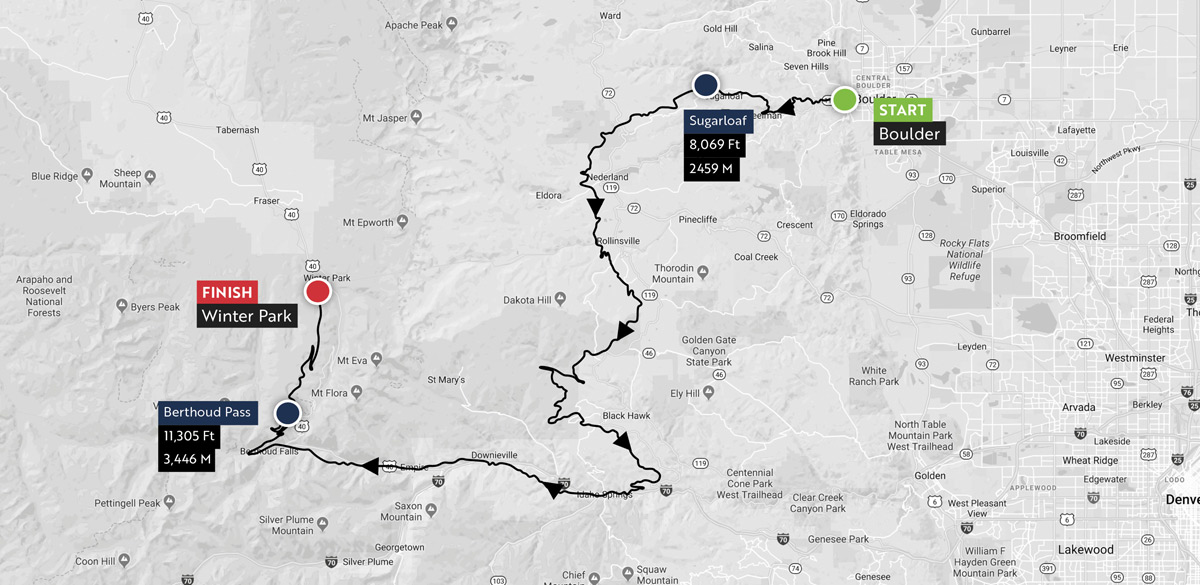 Haute Route Rockies Maps 2
