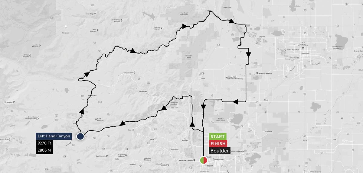 Haute Route Rockies Maps 1